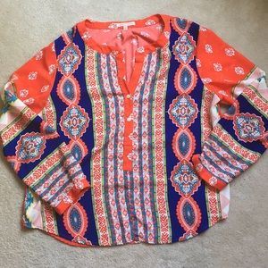 Gibson Latimer Tops - Colorful Gibson Latimer blouse